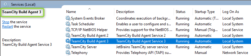 shades of orange | How To Set Up Additional TeamCity Build Agents