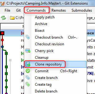 shades of orange   How to: set up a new GIT repository on